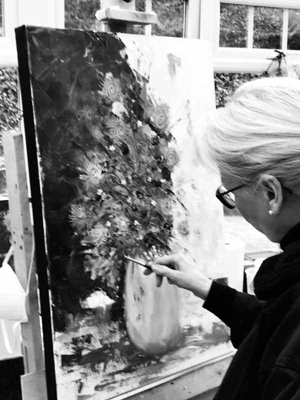 Marie Baird Painting with Oil