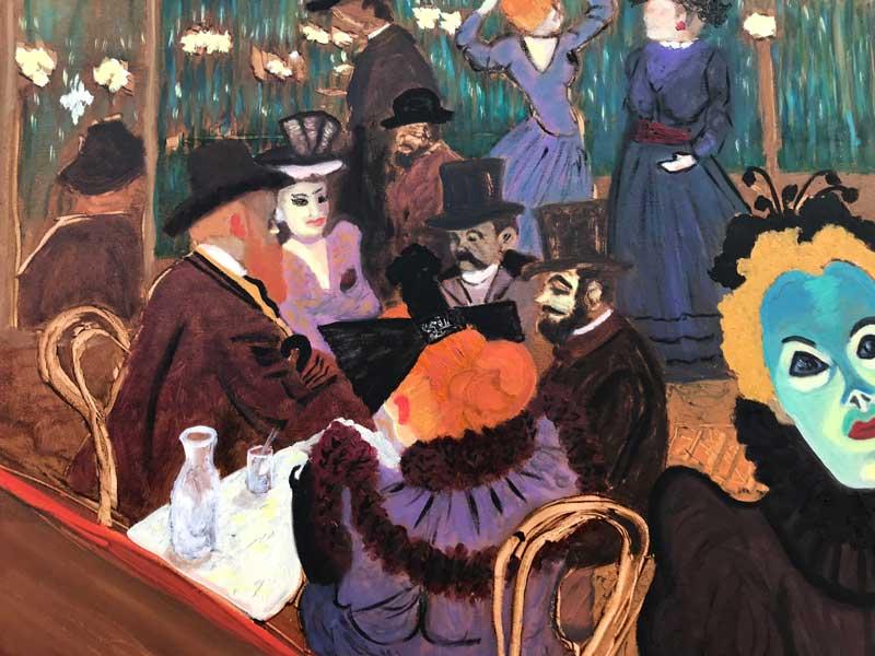 study after Toulouse Lautrec