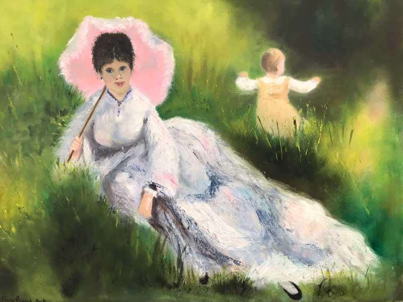 study – after Renoir