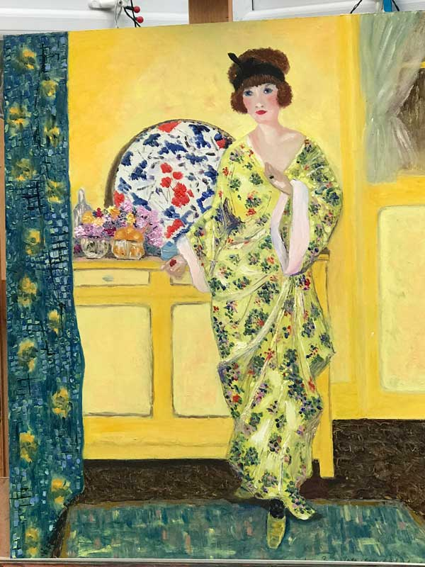 study after Frieseke