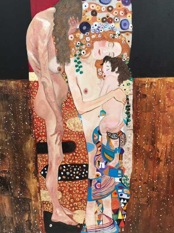 study after Klimt
