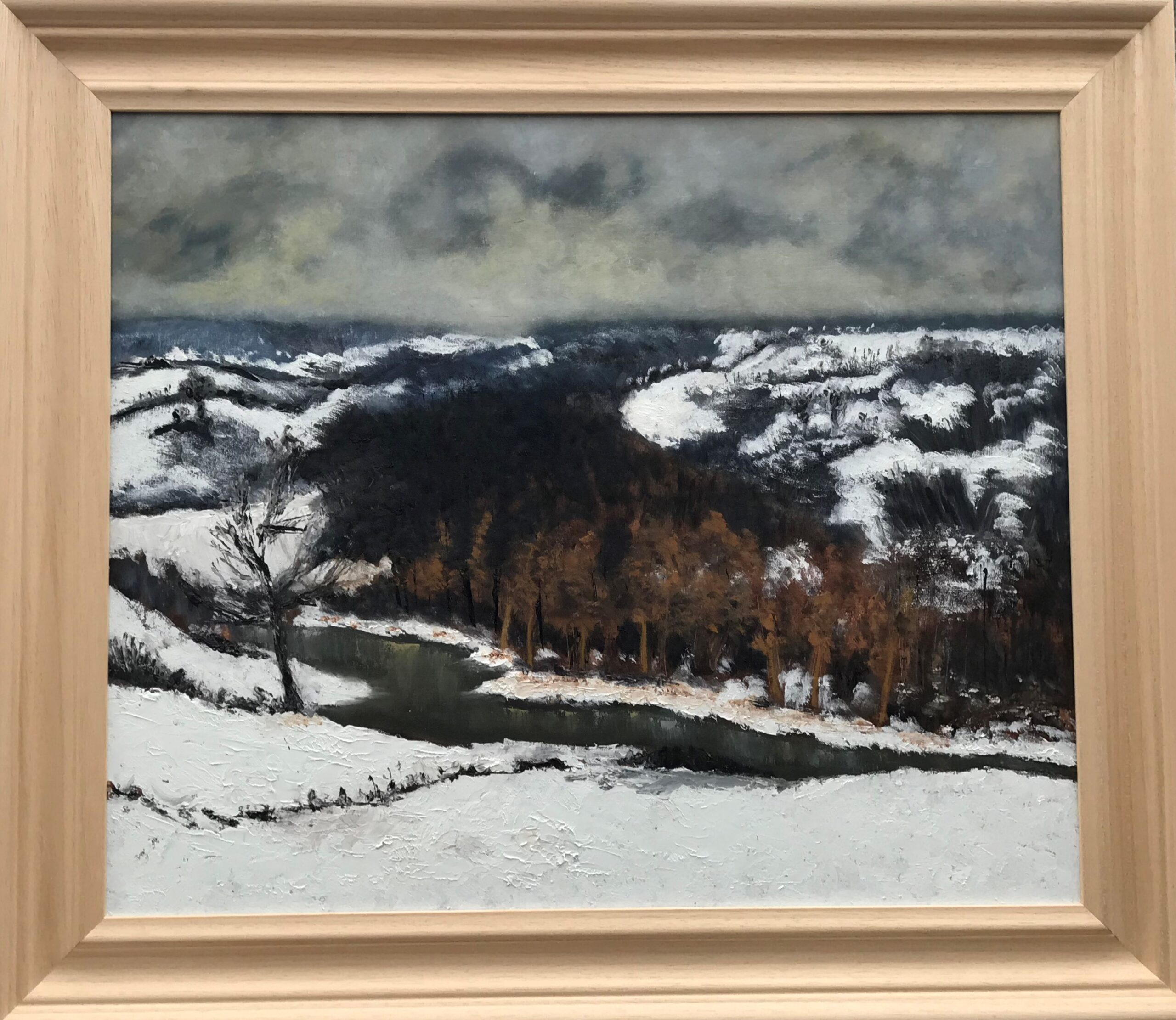 Bure Valley in Winter after Edward Seago