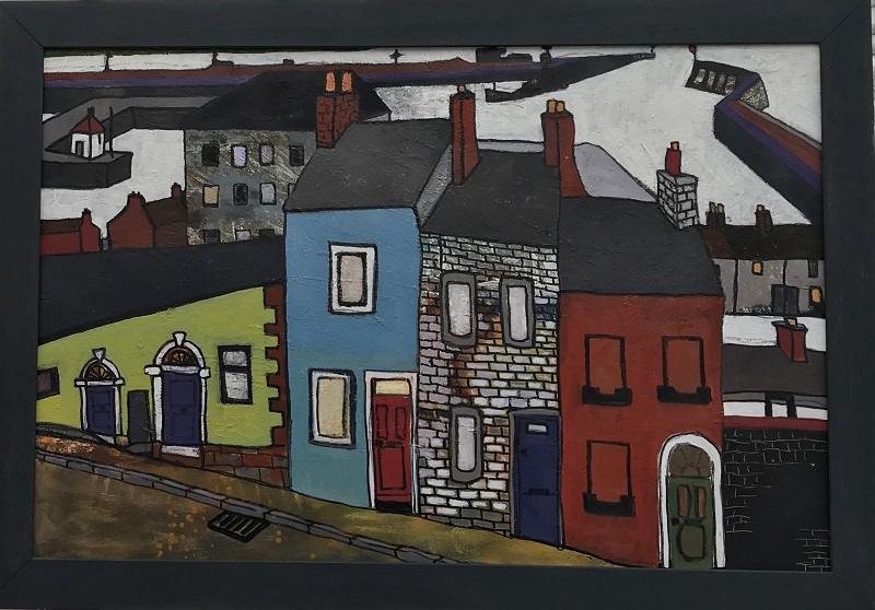 Study of Maryport after Percy Kelly