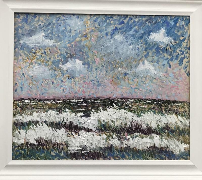 Seascape after Monet